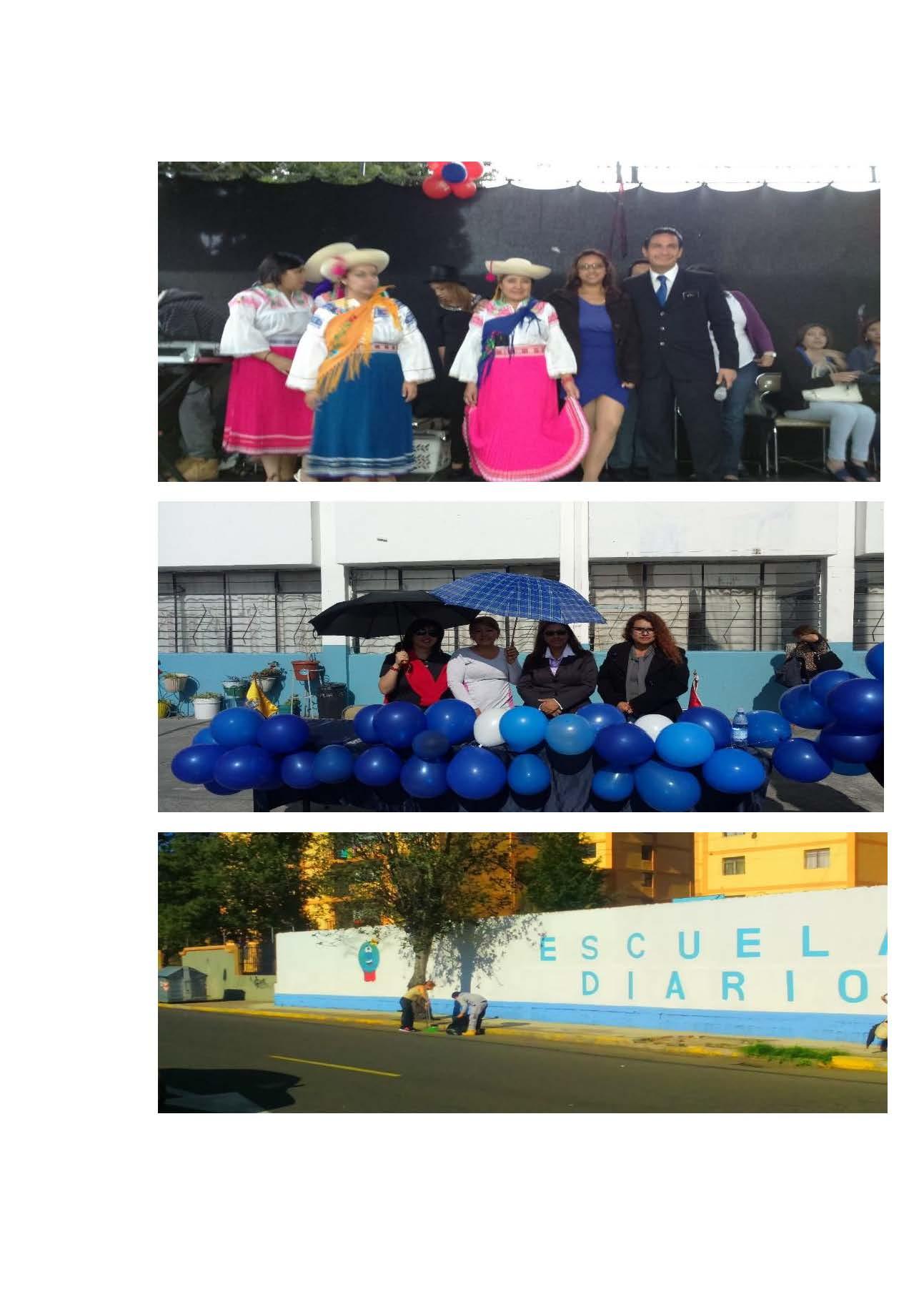 Recuerdos de las Fiestas de Quito Escuela de E.G.B. DIARIO EL COMERCIO Imagen 3